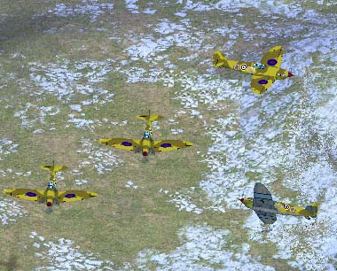 WW2 Fighter Allied Yellow-Tan Camo by TheGoodEvil. Download... RONH 2003 Skin Mod Contest entry