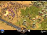 A Korean army fights off three attackers as they defend their captital city..